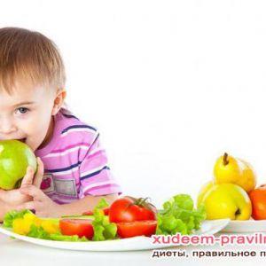 Раціон дитини в рік. Що давати малюкові з дня в день