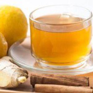 Рецепти чаю з імбиром для схуднення