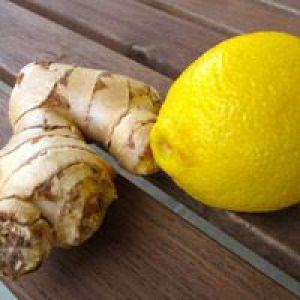 Рецепти приготування імбиру з лимоном для позбавлення від зайвої ваги