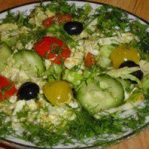 Салат: овочеве асорті на зиму