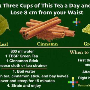 Зробіть саморобний чай для втрати ваги з цими інгредієнтами