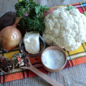 Суп пюре з цвітної капусти та картоплі (пісний)
