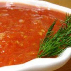 Томатний соус для спагетті
