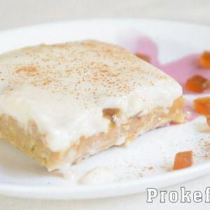 Торт без випічки на кефірі з печивом і мармеладом