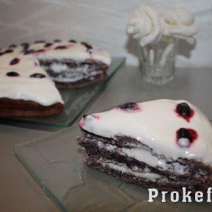 Торт негр на кефірі