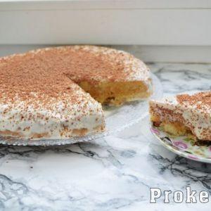 Торт три молока - покроковий рецепт з фото на кефірному бісквіті