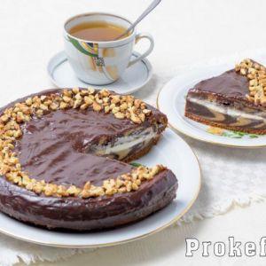 Торт зебра на сметані рецепт з фото крок за кроком у домашніх умовах