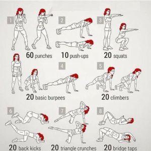 Тренування для швидкого спалювання жирів