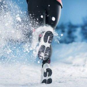 Тренування на вулиці взимку