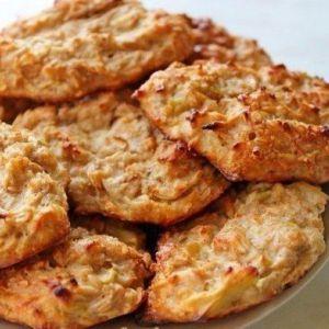 Сирно-вівсяне печиво для тих, хто на дієті!