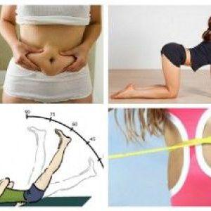 Вправи щоб прибрати живіт - правила, поради, комплекс вправ