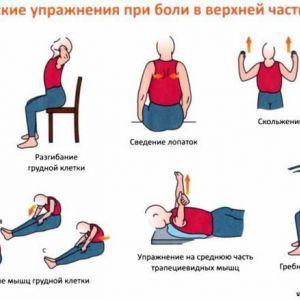 Вправи для попереку при болях в спині